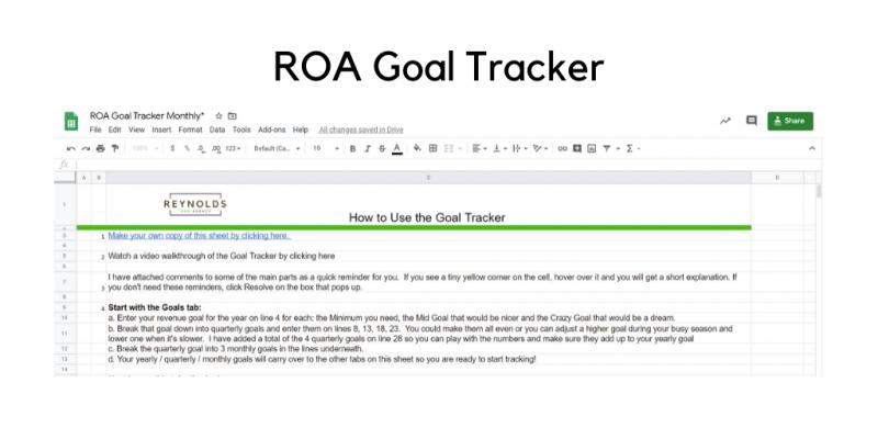 ROA Goal Tracker